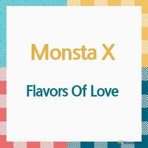MONSTA X - Album [Flavors Of Love] (CD) (Japanese Version) (*Order can be canceled cause of early out of stock)