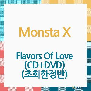MONSTA X - Album [Flavors Of Love] (CD+DVD) (Limited Edition) (Japanese Version) (*Order can be canceled cause of early out of stock)