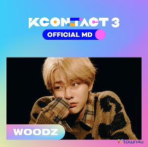 WOODZ - TICKET & AR CARD SET [KCON:TACT3 OFFICIAL MD]