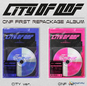 [Ktown4u Event] [2CD SET] ONF - REPACKAGE Album [CITY OF ONF] (CITY Ver. + ONF Ver.)